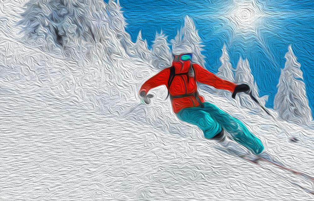 El esquí nació incluso antes que la rueda